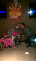 Tyler loves Magic Hat skeletons