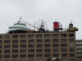 The roof of the City Museum