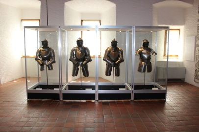 Gruyere armor display