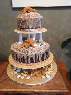 Pound Cake Wedding Tower