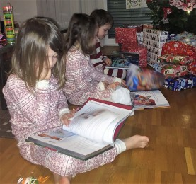A sudden stoppage in Christmas morning