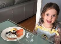 These children eat like horses