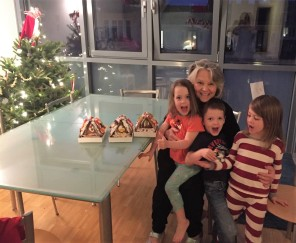 Gingerbread houses!