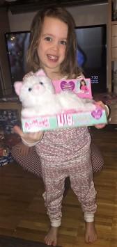 Maren finally gets a cat