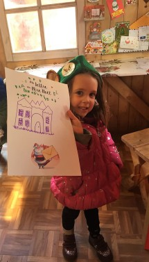 Miss Bear, letter to Santa ready to roll